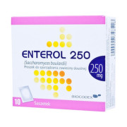 ENTEROL 250 mg prášok na perorálnu suspenziu 10 vreciek