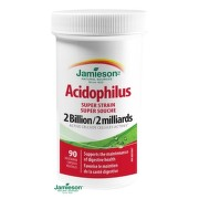 JAMIESON SUPER STRAIN ACIDOPHILUS 90tbl