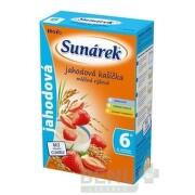 SUNÁREK mliečna ryžová kašička jahodová plv 225 g