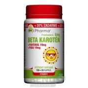 BIO Pharma Beta karotén 6 mg cps 100+30 cps 100+30