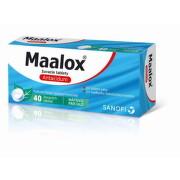 Maalox žuvacie tablety tbl 40
