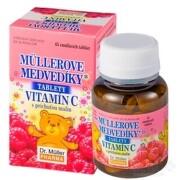 MÜLLEROVE medvedíky - vitamín C tbl 1x45 ks