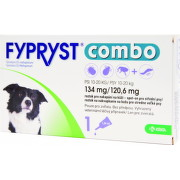 FYPRYST combo 134 mg/120,6 mg PSY 10-20 KG 1x1,34ml