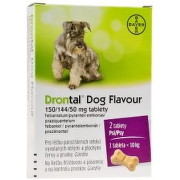 Drontal Dog Flavour 150/144/50 mg tablety tbl 2