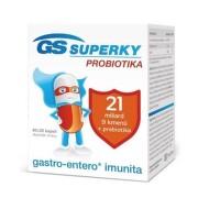 GS SUPERKY Probiotiká 60 + 20 kapsúl ZADARMO