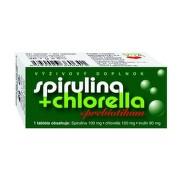 NATURVITA Spirulina + Chlorella + Prebiotikum 90 tabliet