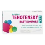 BIOGEMA Baby tehotenský test komfort 1 kus