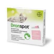 DRONSPOT 30 mg/7,5 mg spot-on pre malé mačky 2 x 0,35 ml