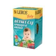 LEROS Detský čaj spokojné bruško 20 x 2 g