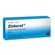 ZINKOROT 25 mg 50 tabliet
