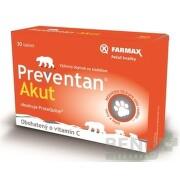 FARMAX Preventan Akut obohatený o vitamín C tbl 30