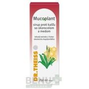 Mucoplant Sirup proti kašľu so skorocelom a medom 250ml