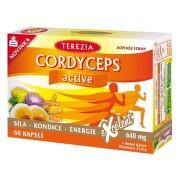 TEREZIA Cordyceps active 60  kapsúl