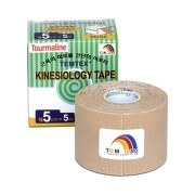 TEMTEX KINESOLOGY TAPE TOURMALINE 1ks (5cmx5cm)