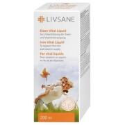 LIVSANE Železo vital tekutina 200 ml