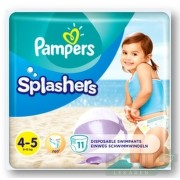 PAMPERS SPLASH MAXI 4-5 11ks