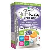 Nutrikaša probiotic - čučoriedka a marhuľa 3x60g