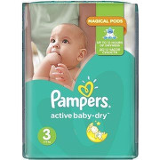 Pampers Active Baby 3 Midi 6-10 kg 208ks