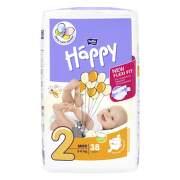 HAPPY Detské plienkové nohavičky 3-6 kg mini 38 kusov