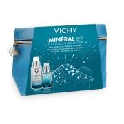VICHY Mineral 89 hyaluron booster XMAS 2020 booster na tvár 50 ml + booster na očné okolie 15 ml