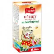 APOTHEKE BIO Detský bylinný čaj na dobré trávenie 20 x 1,5 g