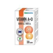 EDENPHARMA Vitamín A + D 30 tabliet