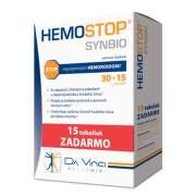 DA VINCI Hemostop synbio 30 + 15 kapsúl ZADARMO
