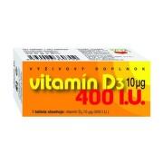 NATURVITA Vitamín D3 10 (400 I.U.) 90 tabliet