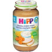 HiPP Príkrm Zelenina s morčacím mäsom 220g