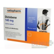 Diclobene 140 mg emp med 5x140mg