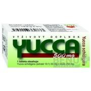 NATURVITA YUCCA 500 mg Yucca shidigera tbl 1x60 ks tbl 60