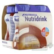 NUTRIDRINK čokoládová príchuť 4x200 ml sol 4x200ml
