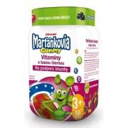 WALMARK Marťankovia Gummy Vitamíny s Bazou čiernou 50ks