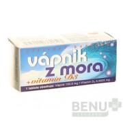 NATURVITA VÁPNIK Z MORA + vitamín D3 tbl 1x60 ks tbl 60