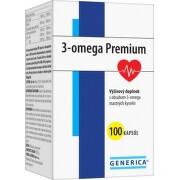 GENERICA 3-omega premium 100 kapsúl