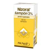 Nizoral šampón 2% shp 60ml
