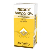 NIZORAL Šampón 2% 60 ml