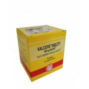 Calcii carbonas Galvex 500 mg (KALCIOVÉ TABLETY) tbl 50x500mg