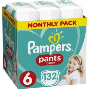 Pampers Pants 6, 15+ kg 132ks