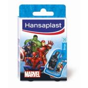Hansaplast MARVEL náplasť s detským motívom, stripy 20 ks