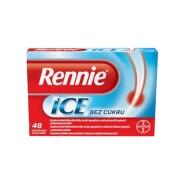 RENNIE ICE cez cukru 48 žuvacích tabliet