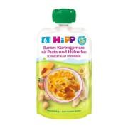 HiPP BIO Príkrm zelenina,tekvica,cestoviny a kuracie mäso 130 g