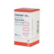 LUCETAM 400 mg 60 tabliet