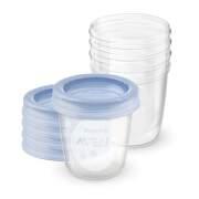 AVENT VIA poháriky 240 ml s vrchnákmi 5 kusov