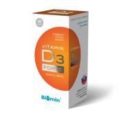 BIOMIN Vitamín D3 forte 1000 I.U. 60 kapsúl