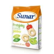 SUNAR Detský snack prstienky s príchuťou jablko 50 g