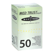 MED TRUST Light testovacie prúžky 50 kusov