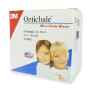 3M Opticlude maxi očná náplasť 5,7 x 8,2 cm 100 kusov