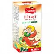 APOTHEKE BIO Detský bylinný čaj na imunitu 20 x 1,5 g