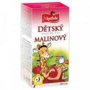 APOTHEKE Detský ovocný čaj malinový 20 x 2 g